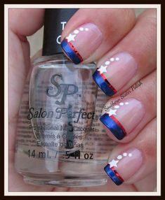 of July Nails! The Very Best Red, White and Blue Nails to Inspire You This Holiday! Fourth of July Nails and Patriotic Nails for your Fingers and Toes! Fancy Nails, Diy Nails, Pretty Nails, Seasonal Nails, Holiday Nails, Christmas Nails, Fingernail Designs, Nail Art Designs, Pedicure Designs