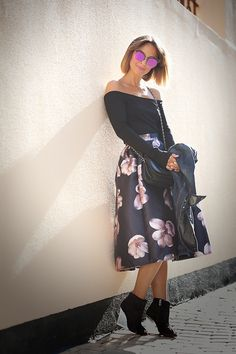 choies-flower-printed-skirt-galant-girl