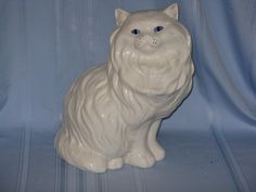 large white ceramic cat path decorations pictures full path