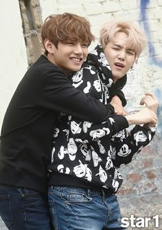 I just hope Tae and Yoongi get well soon.