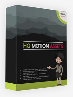 HQ Motion Assets Review And Download – Create Your Own Professional Highly Video In Minutes And Use These Assets To Increase Your Customer's Interest In Your Videos 100%