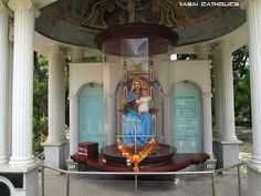 """""""Our Lady of Remedy""""- in premises of Our Lady of Remedies Church, Remedy, Vasai West."""