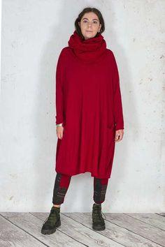 Rundholz Black Label Knitted Scarf RH175194 ,Rundholz Black Label Dress RH175178 ,Rundholz Black Label Trousers RH175133