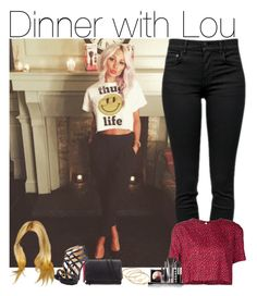 """Dinner with Lou"" by directioner-fashion-453 ❤ liked on Polyvore featuring Proenza Schouler, Madewell, Piamita, Zara, Christian Louboutin and LORAC"