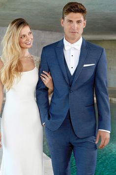 A fresh approach to formalwear, the Indigo Blue Lane tuxedo is perfect for your next formal affair. The ultra slim fit styling is tailored to fit all body. Blue Tuxedo Wedding, Wedding Tux, Wedding Attire, Wedding Dresses, Wedding Favours, Groom Tux, Groom Attire, Blue Suit Groom, Navy Blue Groomsmen
