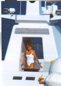 Diana in St Tropez 1997