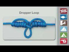 Dropper Loop | How to tie the Dropper Loop | Knots