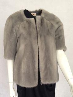 Beautiful Marni Grey Mink Jacket £3,500