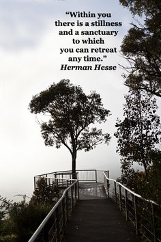 """Within you there is a stillness and a sanctuary to which you can retreat any time."" Herman Hesse – On image of Australia's Grampians National Park, Victoria, at Boroka Lookout by Florence McGinn -- Reading and learning are part of life's harmony; build an empowered reading environment. Learn more at http://www.examiner.com/article/how-to-build-an-empowered-reading-environment"