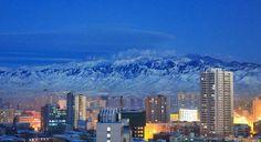 Winter in Urumqi