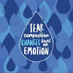 YOUR TEARS have different compositions based on whether something's irritating your eye, or you're crying, or yawning! #didyouknow #loveyourface #ecaflagstaff #flagstaffeyedoctor #optometrist #weareflagstaff