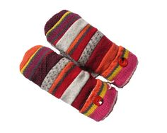 Wool Patchwork Mittens SWEATY MITTS Designer by SweatyMitts  Women's Mittens, Fleece-Lined, Wool, Handmade