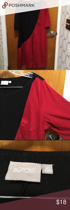 Eshakti black and red dress Eshakti black and red dress eshakti Dresses