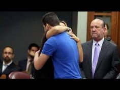 Mother Hugs Daughter's Killer in Court. This lady is amazing.