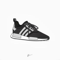 """Consortium #NMD """"Key City Activation""""  Straight from the off adidas have released a consortium take on the all new #NMD. These feature reflective grey elements to contrast the black Primeknit. Only 1000 pairs made made and there already on sale via select consortium retailers.  by kickposters"""
