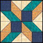 Cubed Lattice (Four Patch Patterns)