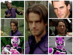 Robert James-RJ-(Violet Wolf Ranger) Power Rangers Jungle Fury, Go Go Power Rangers, Martial Arts, Fan Art, Saga, Collages, Wolf, Anime, Ships
