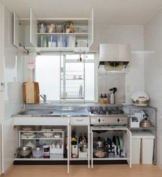20 Gorgeous Kitchen Design Ideas to Inspire Your Next Remodel - The Trending House Kitchen Storage Hacks, Kitchen Organisation, Kitchen Hacks, Organization Ideas, Storage Ideas, Kitchen And Bath, Kitchen Dining, Cheap Kitchen, Small House Decorating