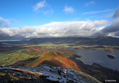 A climb of Catbells, not being so high at 451 metres ft), but blessed with incredible scenery, is something that has become a popular undertaking Lake District, Embedded Image Permalink, Countryside, Scenery, Places To Visit, Coast, Hiking, The Incredibles, Earth