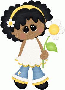 Silhouette Design Store - View Design #77995: spring girl w daisy