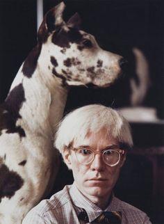 Andy Warhol by Gianfranco Gorgoni, 1972