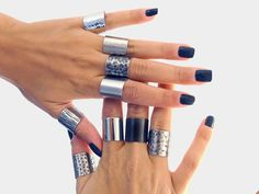 Hey, I found this really awesome Etsy listing at https://www.etsy.com/listing/167225072/cuff-ring-silver-tube-ring-statement