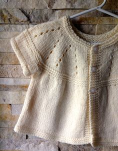 Baby Girl Cardigan by Funky Air Bear