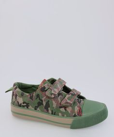 Take a look at this Green Camo Sneaker by Launch on #zulily today!