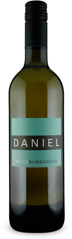 DANIEL Weißburgunder trocken 2012 - Weingut Daniel