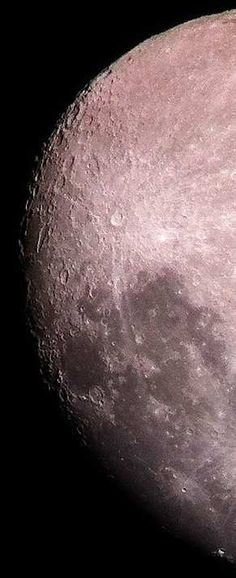 Tycho Crater on the Moon from telescope http://space-pics.tumblr.com/