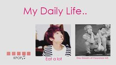 my life xD #kpop the funny thing is that yeah this actually is my life like I'm not kidding or exaggerating.... I have a problem┐( ̄ヮ ̄)┌ oh well I kinda like this problem~~~~