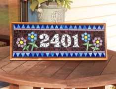 Hey, I found this really awesome Etsy listing at https://www.etsy.com/listing/164288243/mosaic-outdoor-sign-plaque-name-or