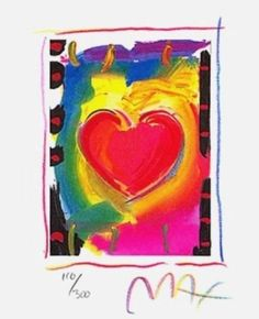 Heart Series I, Ltd Ed Lithograph