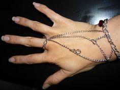 my DIY chain bracelet.