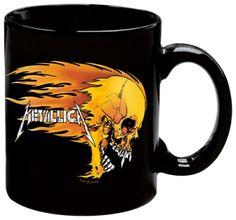 Tasse METALLICA - Flaming Skull #tasse #mug #metallica www.rockagogo.com