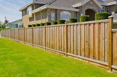 Wooden Fence Styles Fence Styles And Designs For Backyard Front Yard (IMAGES)Wooden Fence Styles How To Choose The Right Wood Fence Style Outdoor EssentialsWooden Fence Styles 35 Awesome Wooden Fence Ideas For Residential Homes Wood Privacy Fence, Privacy Fence Designs, Timber Fencing, Backyard Privacy, Backyard Fences, Backyard Landscaping, Privacy Screens, Privacy Trellis, Yard Fencing