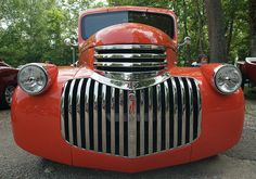 1941 Chevy pickup grill by Murduck, via Flickr,,LOVE GRILLES!