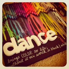 Crayon art #dance