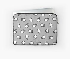 """""""Link Me"""" Laptop Sleeves by Patty Pattern 