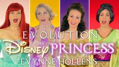 Evolution of the Disney Princess. A medley of every Disney Princess from 1937 until 2013! From Snow White to Elsa; all 14 Princesses! Support my music on Pat...