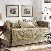 Found it at Wayfair - Map 5 Piece Daybed Quilt Set in Tan