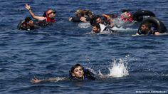 وكالة اخبار دهوك بريس: غرق خمسة مهاجرين بينهم طفل في بحر إيجه