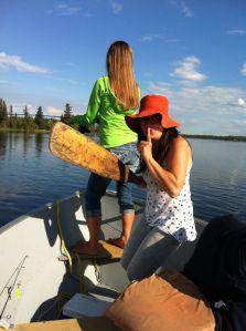 """Women in the Wilderness"" getaway to Pine Island Resort in northern Saskatchewan via Travellinlady ~ Jenn Smith Nelson"