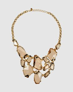 Bridesmaids and maid of honor gifts for the wedding. Kenneth Jay Lane AMAZING bib necklace. Wow.