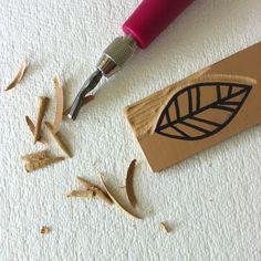 sketchy notions: carving and printing...