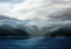 Howe Sound, Oil on Canvas 48x72