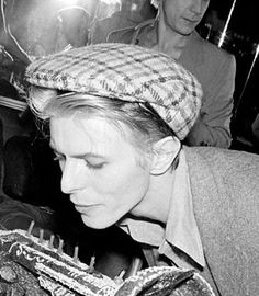 vezzipuss.tumblr.com — David Bowie's 30th Birthday, Berlin, Circa 76