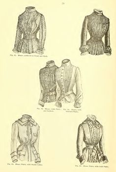 VICTORIAN DRESS PATTERNS Illustrated Book Design by HowToBooks