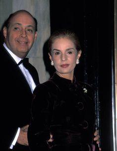Reinaldo and Carolina at a wedding at the Plaza Hotel.