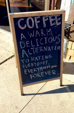 every morning forever.